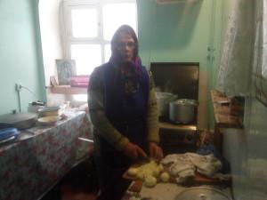 старшая по кухни Татьяна